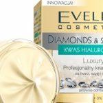 Luxury Profesjonalny krem+serum na twarz, szyję i dekolt Diamonds & Gold Eveline