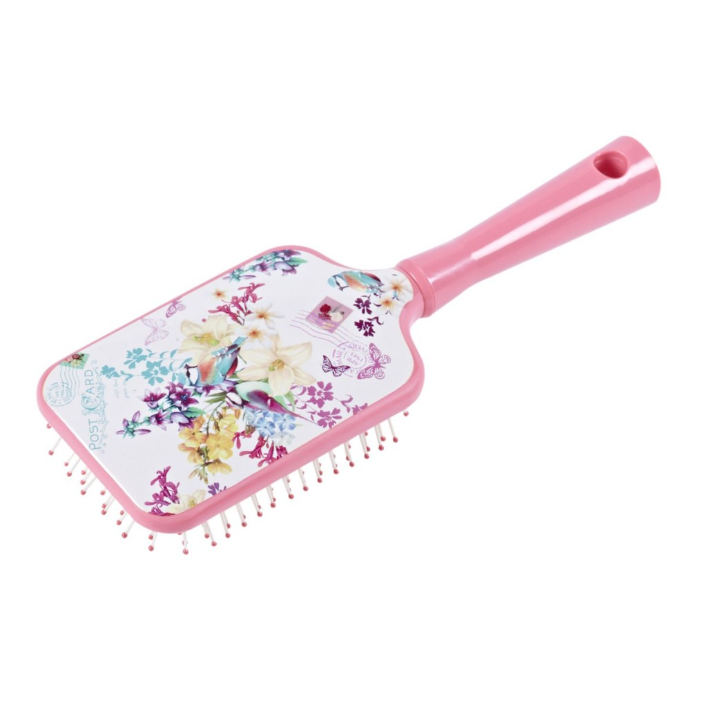 Butterfly Floral Hair Brush 4.50 GBP, 5,95  euro, 24,90 pln