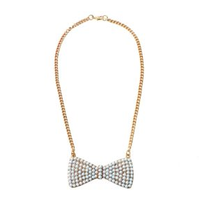 Pearl Bow Necklace 7.00GBP, 9,95euro, 39,90pln