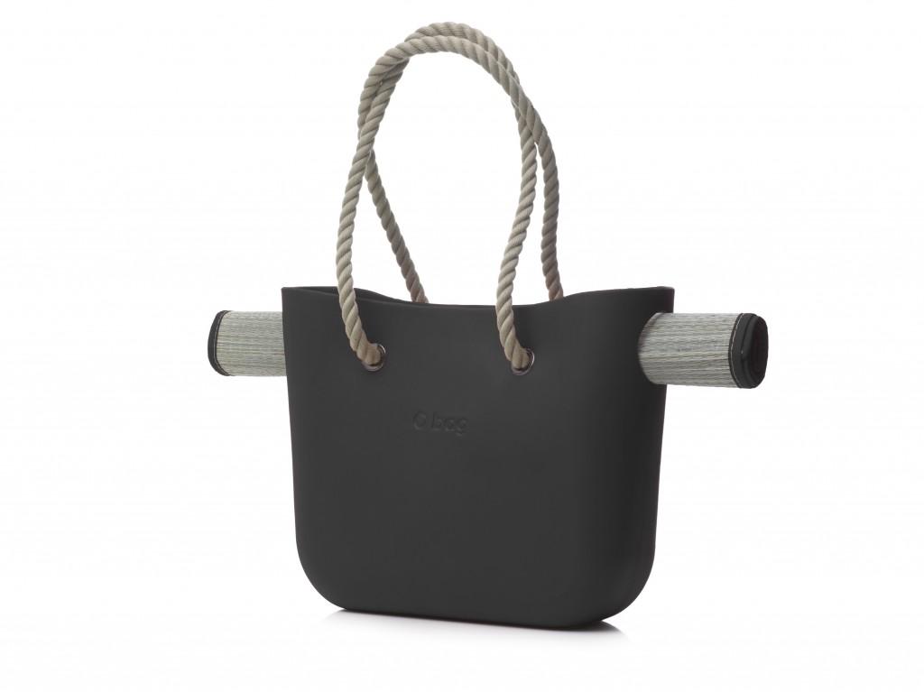 beach O bag black
