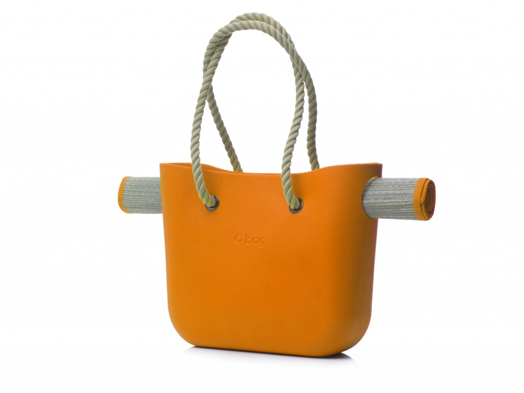 beach O bag orange