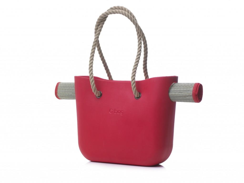 beach O bag red