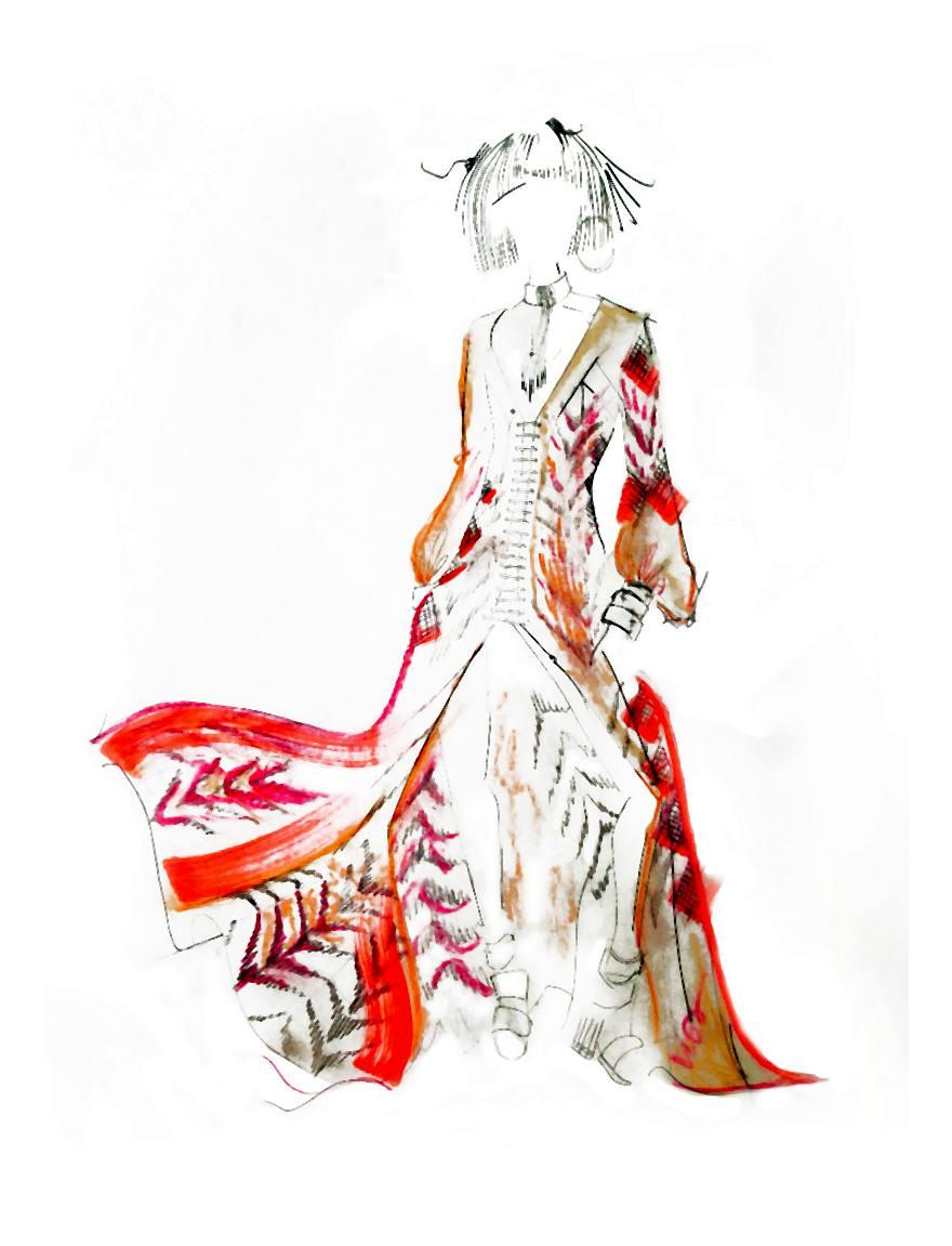 Katie Eary czyli gładkie, lejące się tkaniny, ekspresjonistyczne printy, seksowne kostiumy kąpielowe i modne akcesoria