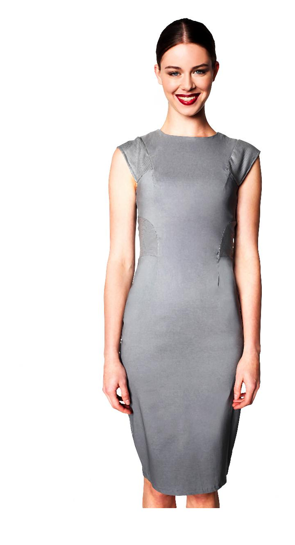 szara sukienka z perforowanymi wstawkami z eko-skóry 1-013-2014-04-24 _ 09_45_00-75