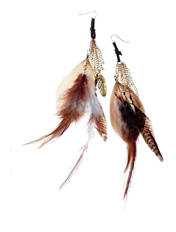 Claires_Brown feather earrings _7, 8.99 Euro, 14.90 CHF, 35.90 PLN-002-2014-06-02 _ 17_43_18-80