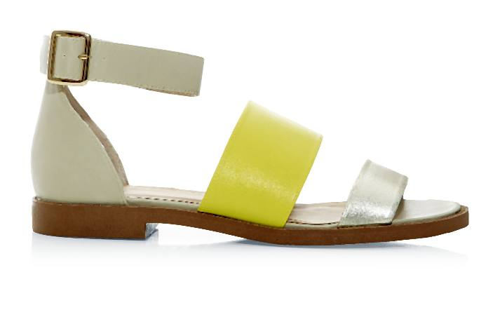 New_Look_Stone and Yellow Tripple Strap Colour Block Sandals _17.99-004-2014-06-04 _ 12_05_52-80
