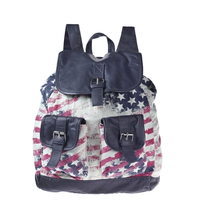 American flag backpack _25, 29.99 Euro, 49.90 CHF, 119.90 PLN
