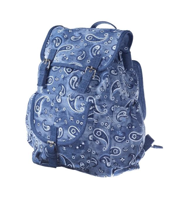 Denim paisley backpack _25, 29.99 Euro, 49.90 CHF, 119.90 PLN