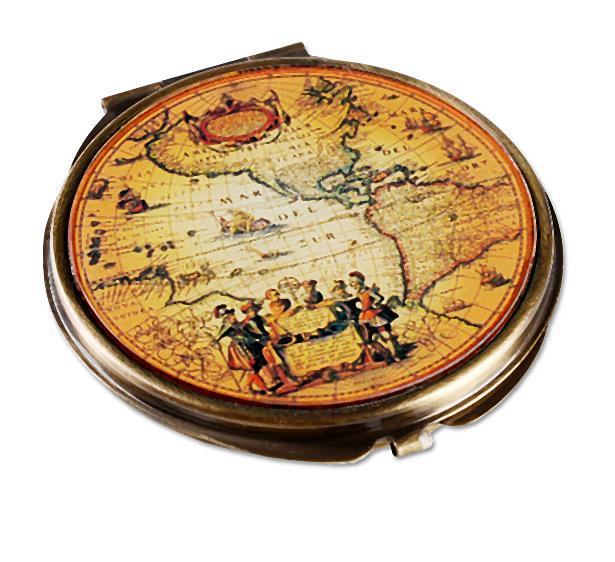 """""""Podróże dookoła świata""""  z busolą, scyzorykiem, latarką i kompasem"""