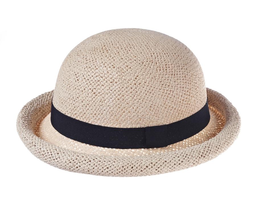 Straw hat with black trim _18, 22.99 Euro, 36.90 CHF, 89.90 PLN