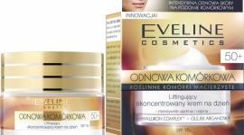 Liftingujący krem na dzień 50+ Eveline Cosmetics ODNOWA KOMÓRKOWA LIFESTYLE, Uroda - Liftingujący krem na dzień 50+ Eveline Cosmetics przeznaczony do codziennej pielęgnacji każdego rodzaju skóry, również wrażliwej, po 50 roku życia.