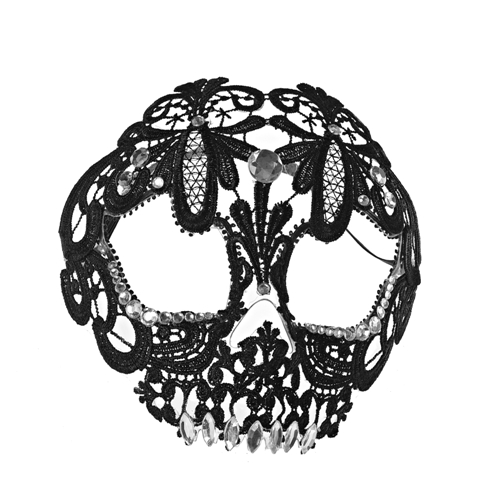 CLAIRES_AW14_Lace Skull Mask 12.00GBP 14,99EUR 59,90PLN 26,90CHF