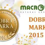 MACROVITA – DOBRA MARKA 2015
