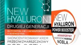 Eveline Cosmetics NEW HYALURON™ Krem Przeciwzmarszczkowy pod oczy LIFESTYLE, Uroda - NEW HYALURON to pionierska terapia aktywująca mechanizmy młodości w głębokich warstwach skóry. Przełomowa technologia TURBO LIFTING AGE DEFENSE™ na bazie DRUGIEJ GENERACJI KWASU HIALURONOWEGO i AKWAPORYN zapewnia bezprecedensową skuteczność w redukcji zmarszczek.