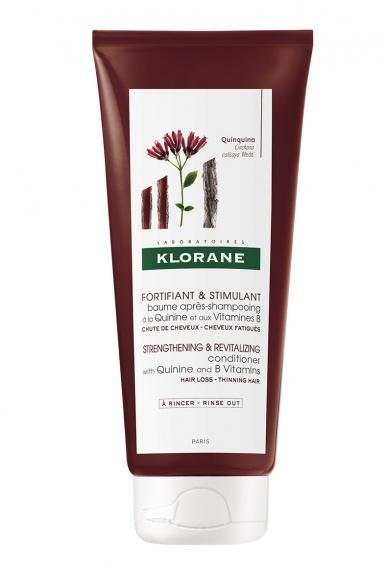 KLORANE BALSAM NA BAZIE CHININY I WITAMIN B LIFESTYLE, Uroda - Balsam na bazie chininy o naukowo potwierdzonym silnym działaniu wzmacniającym, pobudza cebulkę włosa i stymuluje produkcję keratyny. Włosy odzyskują zdrowie i siłę.