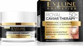 Eveline Cosmetics Luksusowy krem koncentrat 50+ z serii Royal Caviar Therapy™ LIFESTYLE, Uroda - INTENSYWNE UJĘDRNIENIE I REGENERACJA KOMÓREK