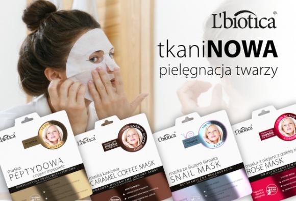 TkaniNOWE maski L'biotica LIFESTYLE, Uroda - L'biotica jako jedna z pierwszych firm przedstawiła Polkom maski na tkaninie do pielęgnacji twarzy, inspirowane koreańskim rytuałem.