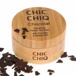 CHIC CHIQ- oczyszczająca maseczka do twarzy w proszku z prawdziwą czekoladą