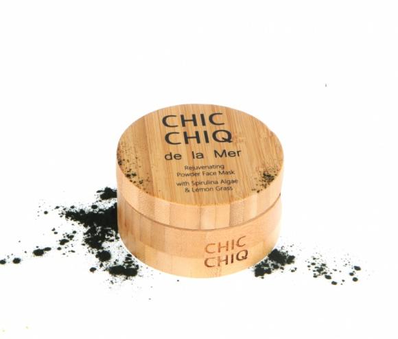 CHIC CHIQ- Nawilżająca i odżywcza maseczka z algami Spirulina LIFESTYLE, Uroda - Nawilżająca i odżywcza maseczka z algami Spirulina i trawą cytrynową orzeźwi zmęczoną skórę.
