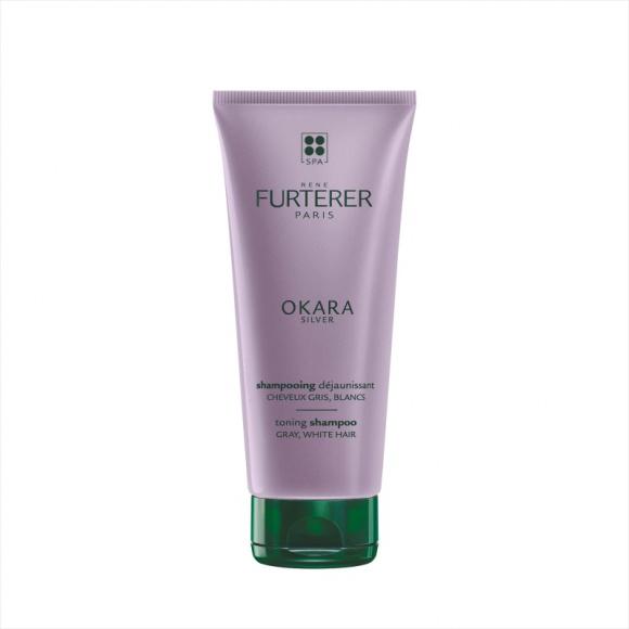 RENE FURTERER OKARA SILVER szampon tonujący włosy siwe, białe i platynowy blond LIFESTYLE, Uroda - Problem z ukrywaniem siwych włosów należy już do przeszłości!