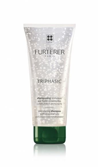 TRIPHASIC szampon przeciw wypadaniu włosów marki Rene Furterer LIFESTYLE, Uroda - Zwiększa dopływ energii i substancji odżywczych, które są niezbędne dla wzrostu mocnych włosów. Rezultat: istniejące włosy ulegają wzmocnieniu. Włosy stają się silne, mocniejsze, miękkie, błyszczące i łatwe do rozczesania. Bez silikonu.