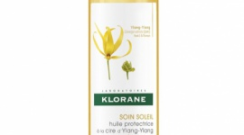 Klorane olejek do włosów na bazie wosku Ylang-Ylang ochrona UV LIFESTYLE, Uroda - Ochrona UV, sól, piasek, chlor