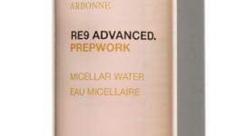 """NOWOŚĆ! RE9 ADVANCED® PREPWORK WODA MICELARNA LIFESTYLE, Uroda - Kolekcja Arbonne RE9 Advanced Prepwork została stworzona dla osób, które prowadzą """"zabiegany"""" tryb życia. Produkty zawierają wyjątkową mieszankę składników pochodzących z superżywności, która pomaga zachować zdrowo wyglądający blask skóry bez dodatkowego wysiłku."""