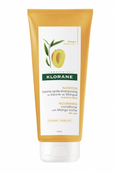 Klorane balsam na bazie Masła Mangowego LIFESTYLE, Uroda - Odżywczy balsam ułatwiający rozczesywanie uzupełnia działanie szamponu w rytuale dla pięknych włosów.