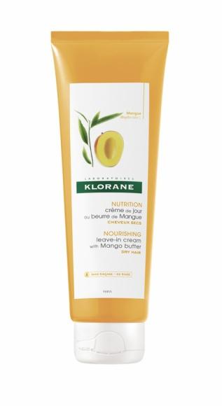 Klorane odżywka bez spłukiwania na bazie Masła Mangowego LIFESTYLE, Uroda - Soczysty krem do włosów chroni je, odżywia i dodaje im miękkości. Idealny do codziennego stosowania, zapobiega rozdwajaniu się końcówek.