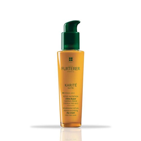 Karité Nutri Rene Furterer intensywnie odżywia włosy bez spłukiwania LIFESTYLE, Uroda - Codzienna pielęgnacja upiększająca na bazie 100% substancji aktywnych pochodzenia naturalnego, przeznaczona dla bardzo suchych włosów.