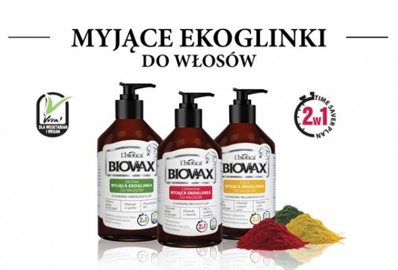 Wegańskie glinki do mycia włosów LIFESTYLE, Uroda - Nietypowe, innowacyjne kosmetyki – tak można opisać nowe myjące ekoglinki. Nowości w gamie produktów Biovax przeznaczone są przede wszystkim do pielęgnacji włosów wymagających rewitalizacji oraz zaspokojenia potrzeb skóry głowy.