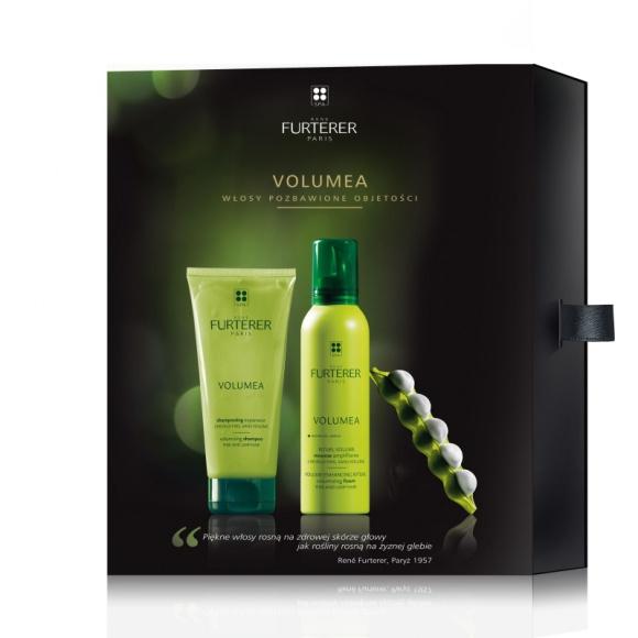 Rene Furterer zestaw prezentowy Volumea do włosów pozbawionych objętości LIFESTYLE, Uroda - Już po pierwszym zastosowaniu włosy zwiększają swoją objętość o 11%. W zestawie znajdziesz szampon i piankę bez spłukiwania.