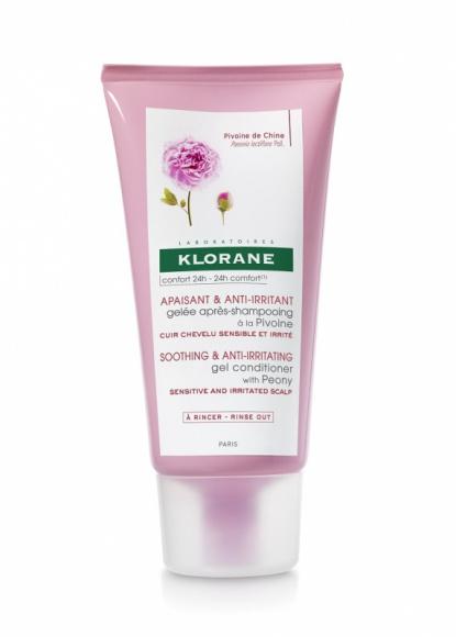 Żel-Balsam Klorane na bazie wyciągu z Piwonii o łagodnym relaksującym zapachu LIFESTYLE, Uroda - Żel-Balsam 2w1 koi skórę głowy i ułatwia rozczesywanie włosów.