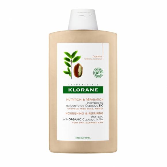 Klorane szampon z organicznym masłem Cupuaçu LIFESTYLE, Uroda - Szampon z organicznym masłem Cupuaçu głęboko odżywia i regeneruje.