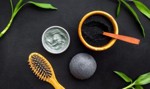 Detoks włosów z węglem aktywnym