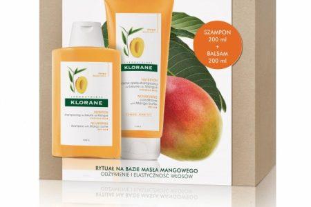 Klorane zestaw kosmetyków na bazie masła mango